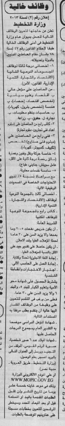 وظائف الجمهورية الثلاثاء 30/7/2013, 30 يوليو 2013