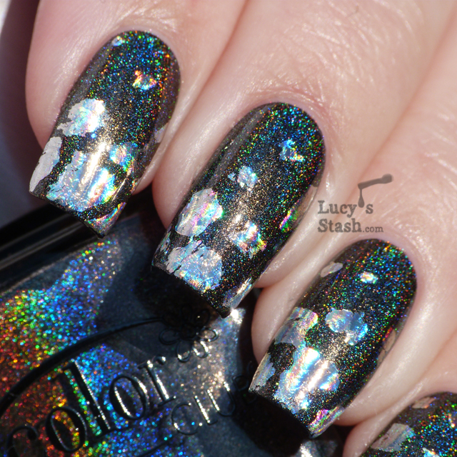 Lucy's Stash - double-holographic nails