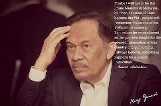Anwar Ibrahim: Maybe I will never be the Prime Minister of Malaysia