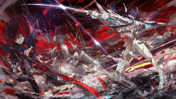 Kill la Kill Fight Anime 6p