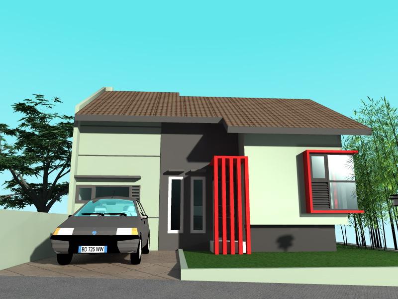 lawilo desain rumah minimalis tropis type 60 150