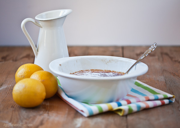 Lemon Pudding Love