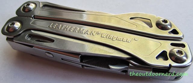 Leatherman Wingman Multi-Tool - Top View 1
