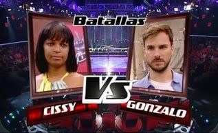 Gonzalo Alcaín y Cissy Miranda-Batallas La Voz