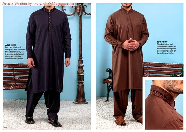 Junaid Jamshed Men Winter Collection 2014