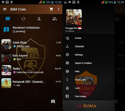 Preview BBM As Roma