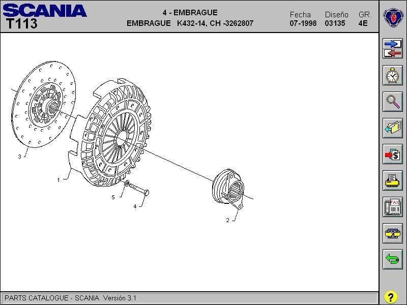 autoparts catalogs  scania  serie 3