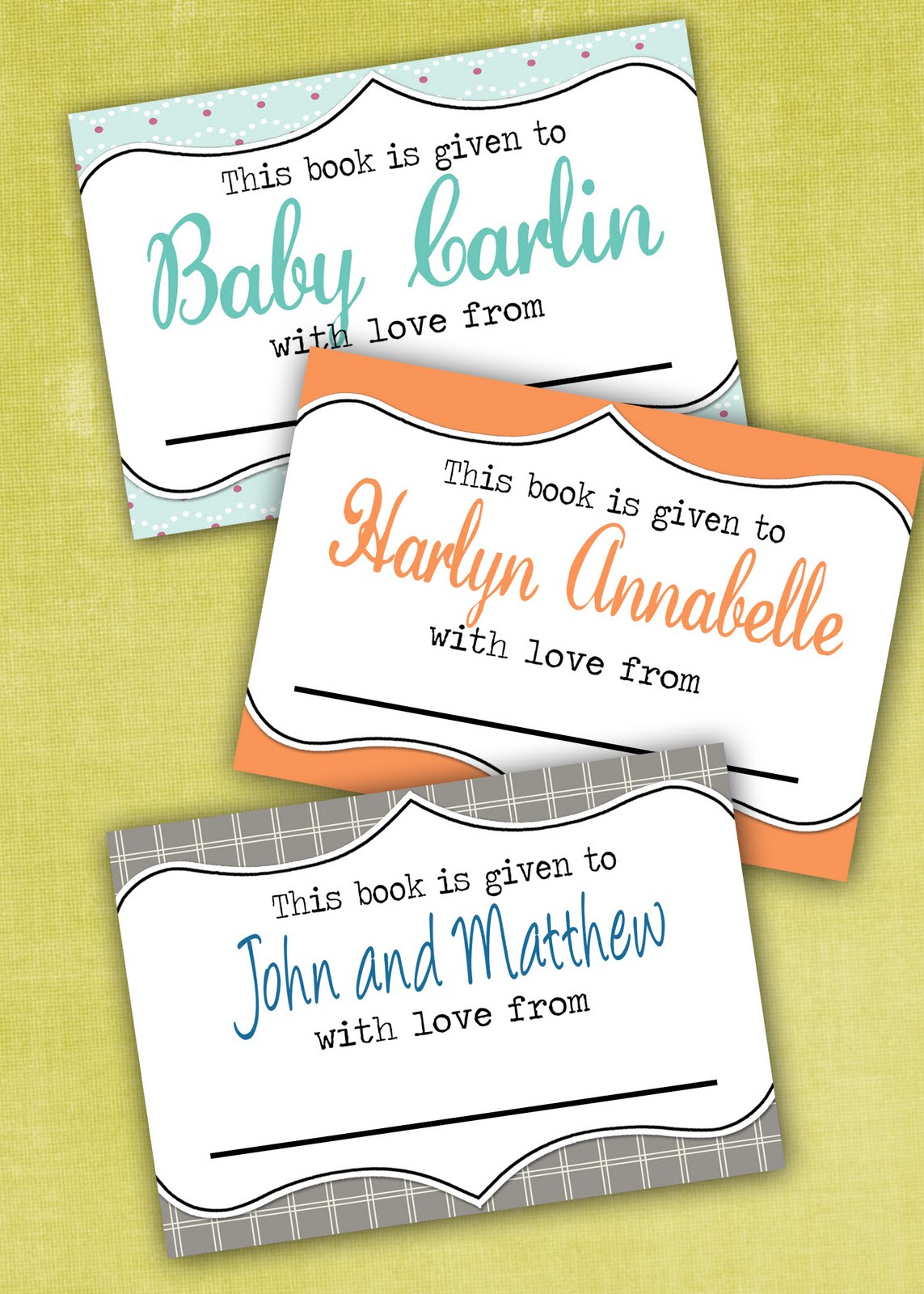 lil mop top printable bookplates freebies