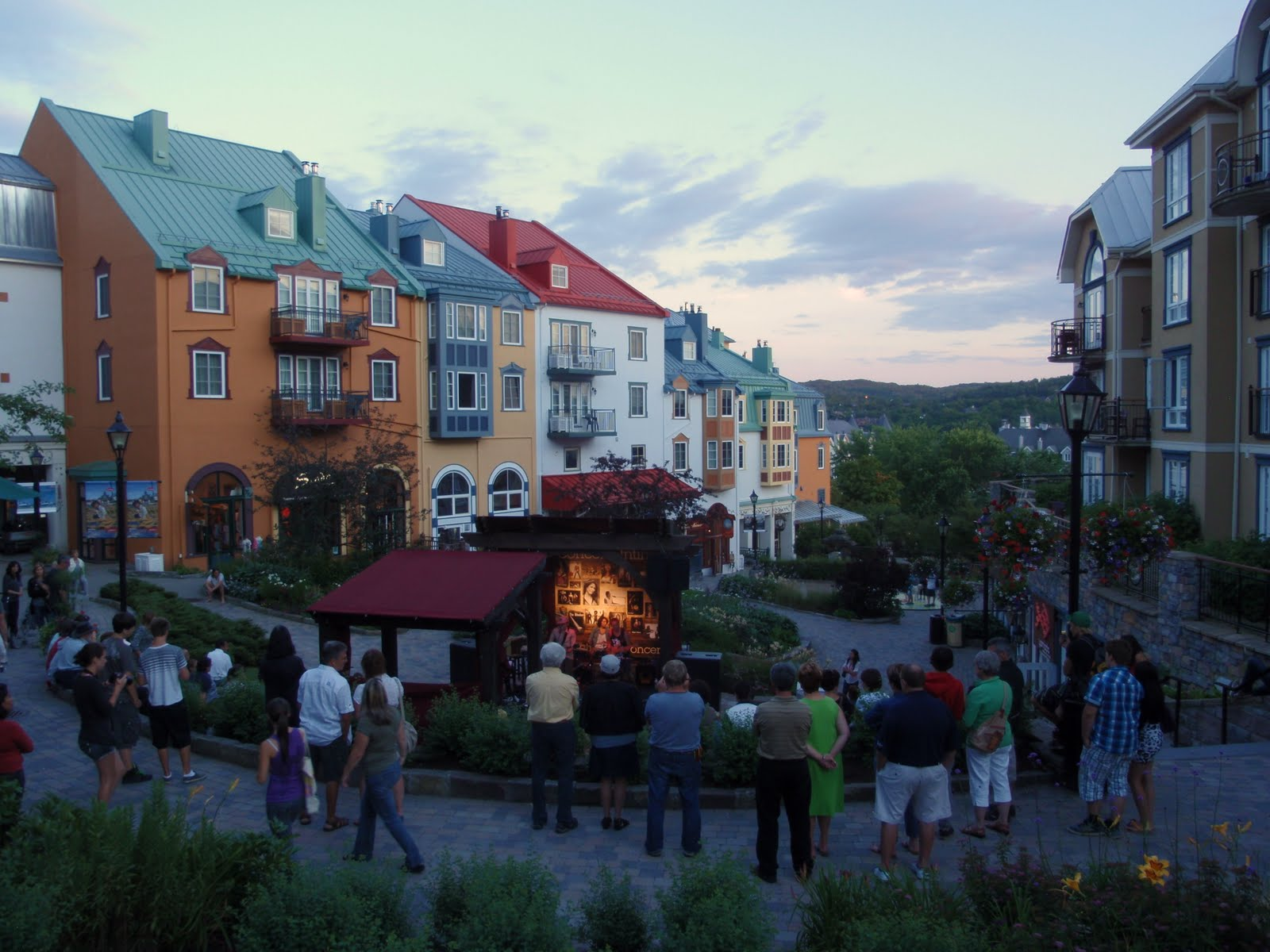 The village of Mont Tremblant