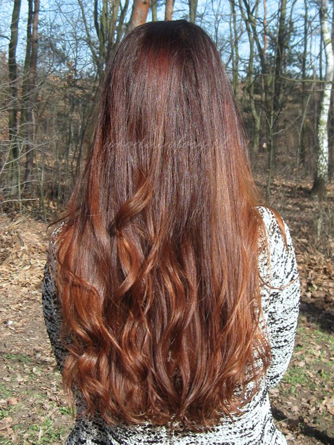 aktualizacja włosów, długie włosy