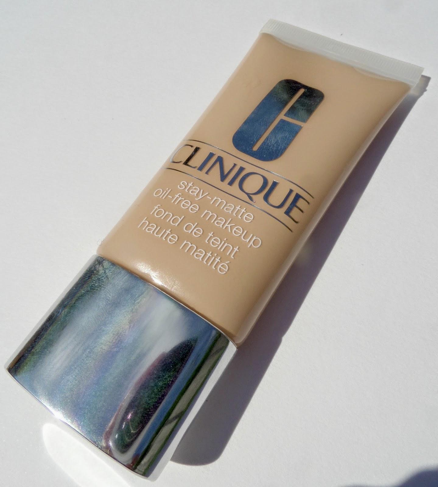 Review Clinique Stay Matte Oil Free Makeup Foundation Lauren