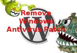 entfernen Windows Antivirus Patch