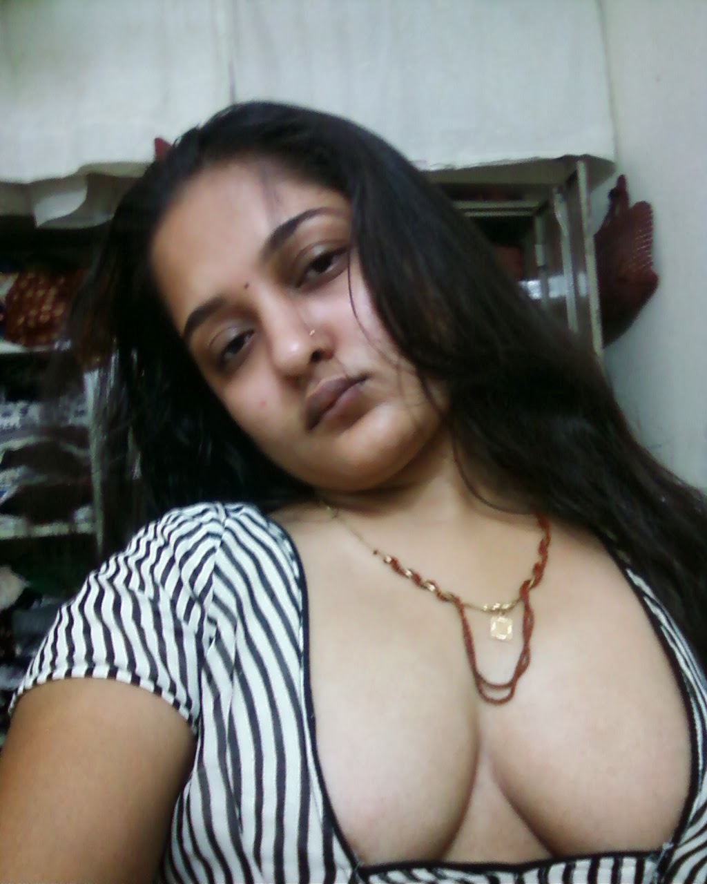 Big Indian busty desi boobs wife