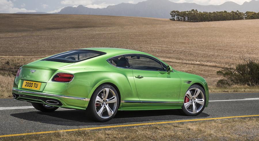 2015年モデル ベントレーコンチネンタルGT Speed