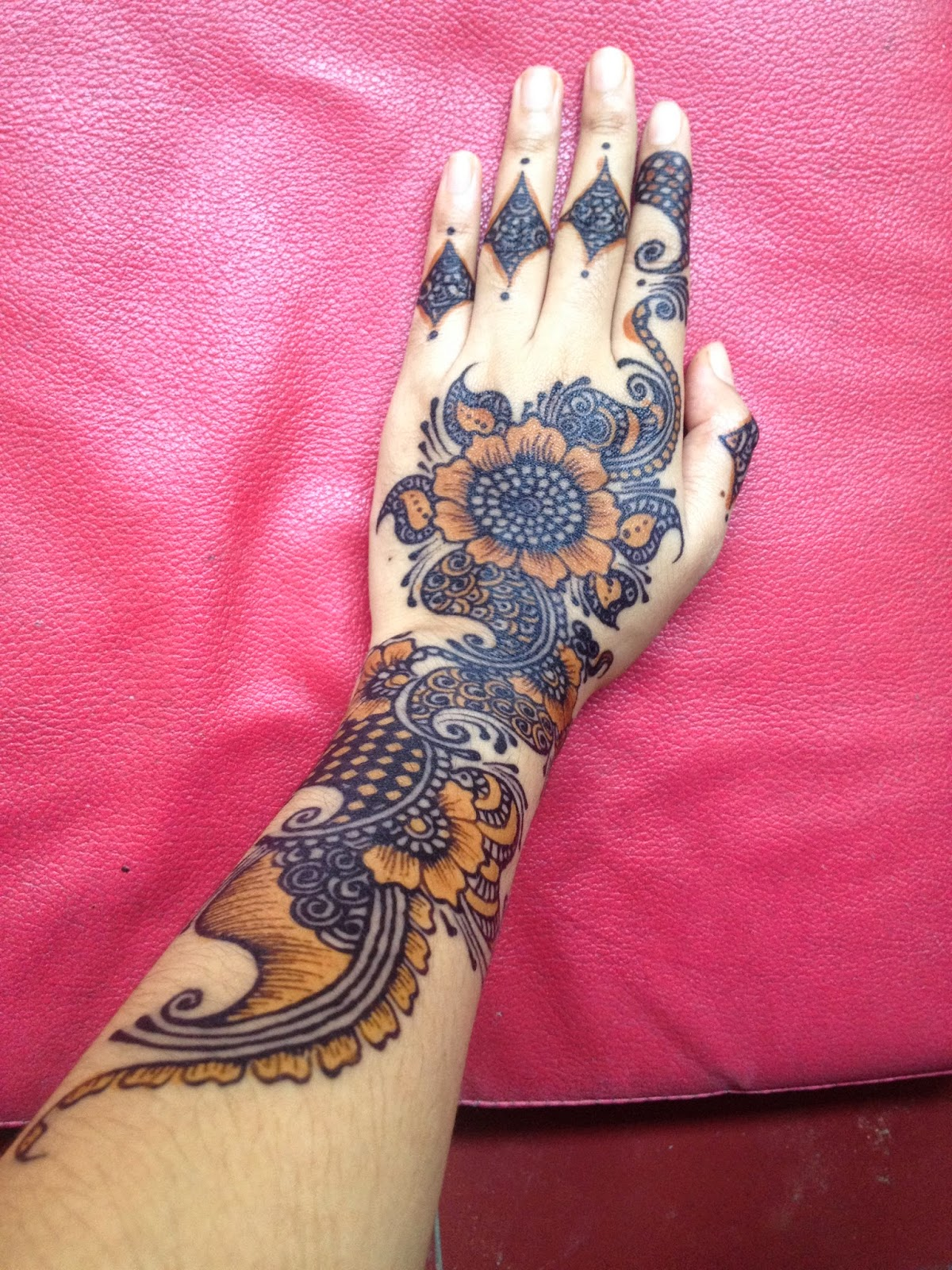 Journey To The Day My Henna Tattoo P