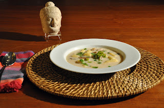 Recipe: Thai coconut chicken soup (Tom Kha Gai)