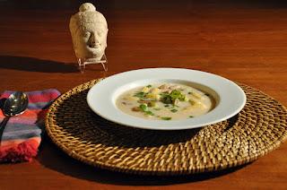 Recipe: Thai coconut chicken soup (Tom Kha Gai)