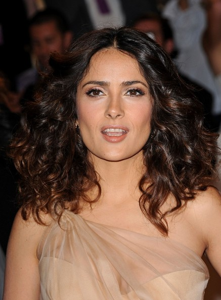 "Salma Hayek at the ""Alexander McQueen: Savage Beauty"" Costume Institute Gala held at The Metropolitan Museum of Art on May 2, 2011 in New York City."
