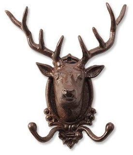 Stag Coat Hook by Orvis
