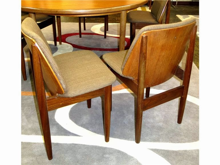 Vintage Bentwood Danish Modern Dining Chairs - Austin Vintage Furniture: Vintage Bentwood Danish Modern Dining Chairs