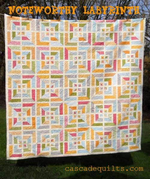 Noteworthy Labyrinth Quilt Â« Moda Bake Shop : labyrinth quilt pattern fabric requirements - Adamdwight.com