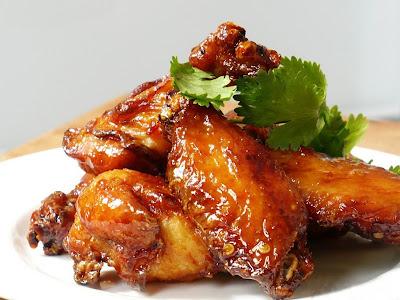Куриные крылышки в меду( сразу 3 рецепта)
