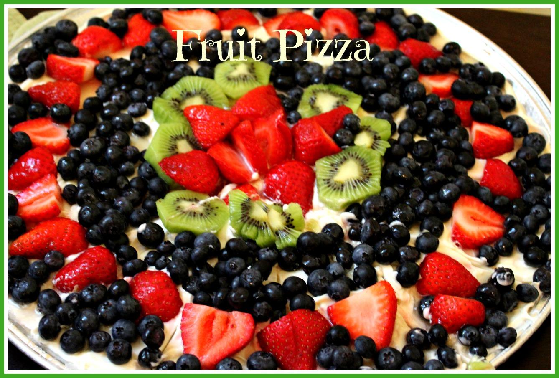 Sweet Tea and Cornbread: Fruit Pizza!