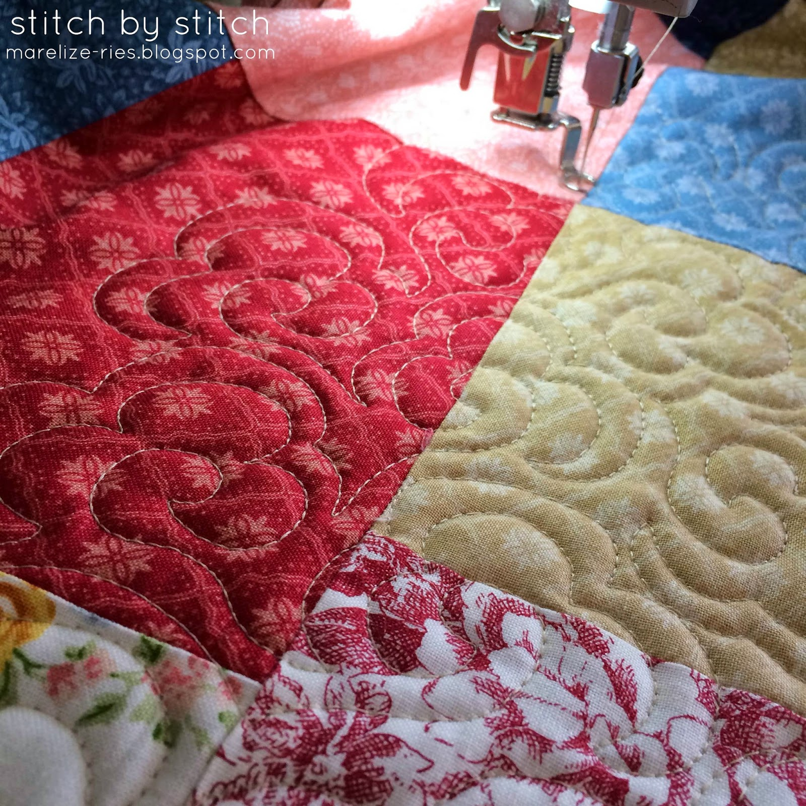 Double Slice Layer Cake Quilt Pattern Free : Stitch by Stitch: Double Slice Layer Cake Quilt