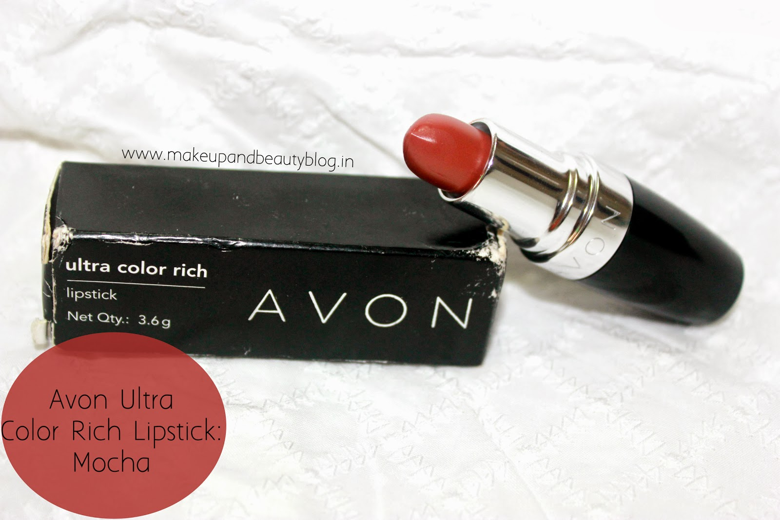 AVON Ultra Rich Lipstick Mocha review