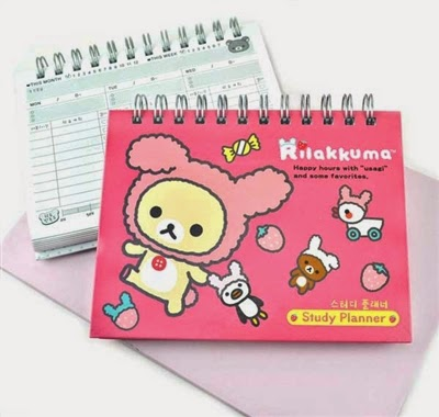 rilakkuma weekly planners at CoolPencilCase.com