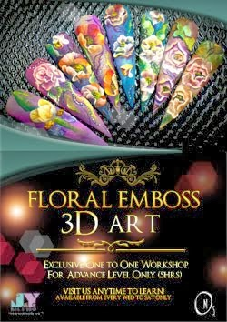 Floral Emboss 3D Workshop