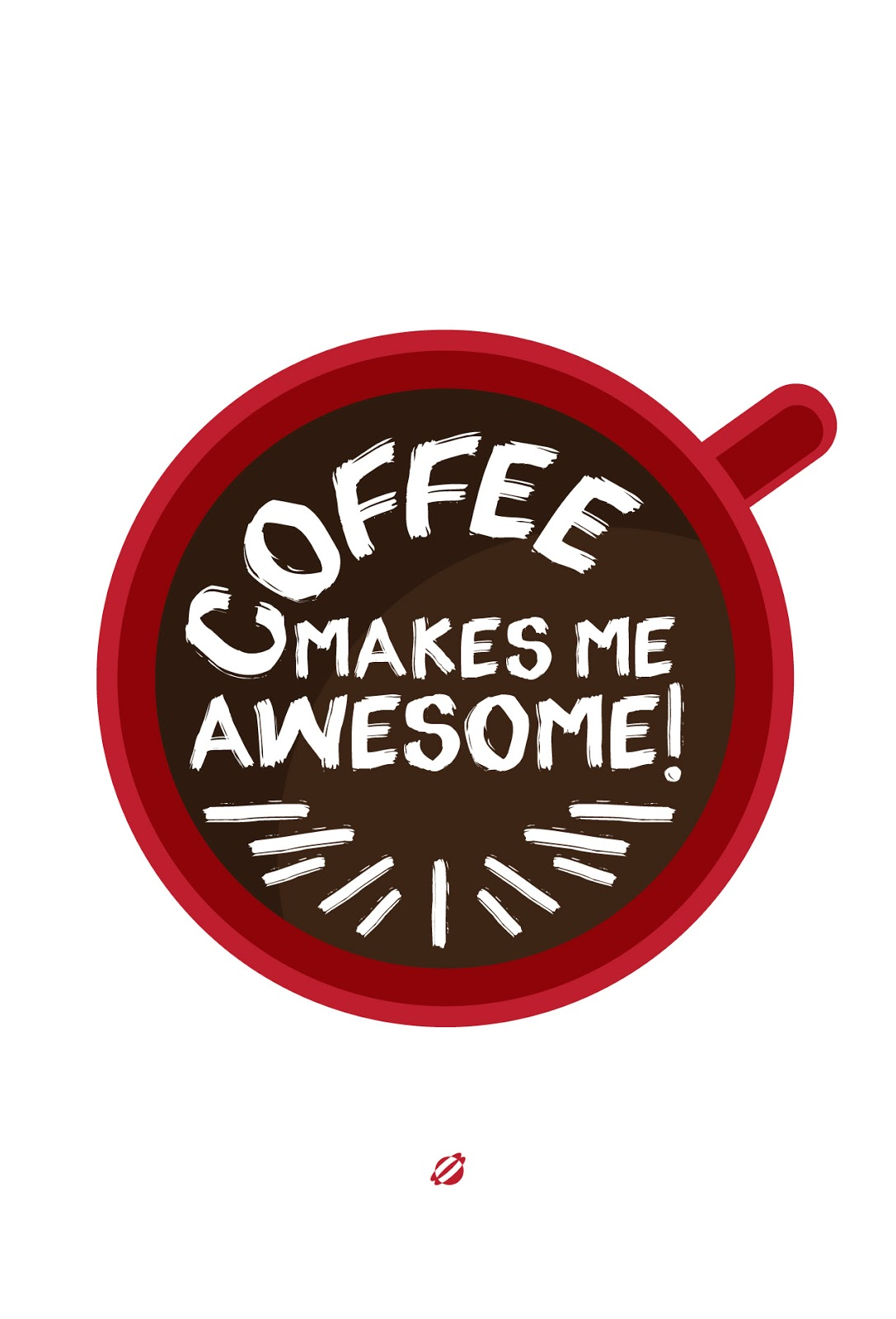 LostBumblebee ©2014 Coffee Makes Me Awesome ! Free Printable