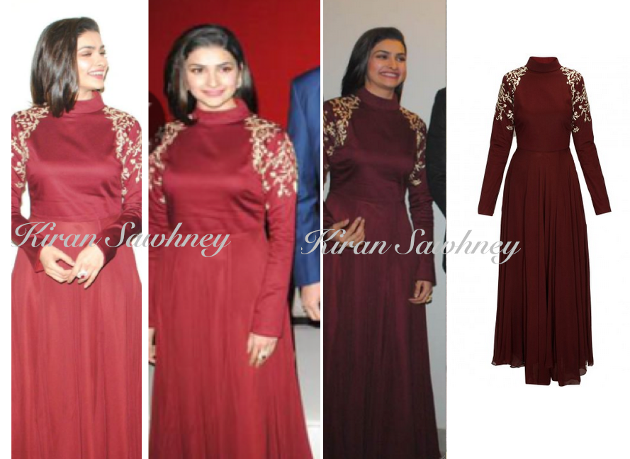 Prachi Desai at the Chaudhary Wedding Reception in SVA