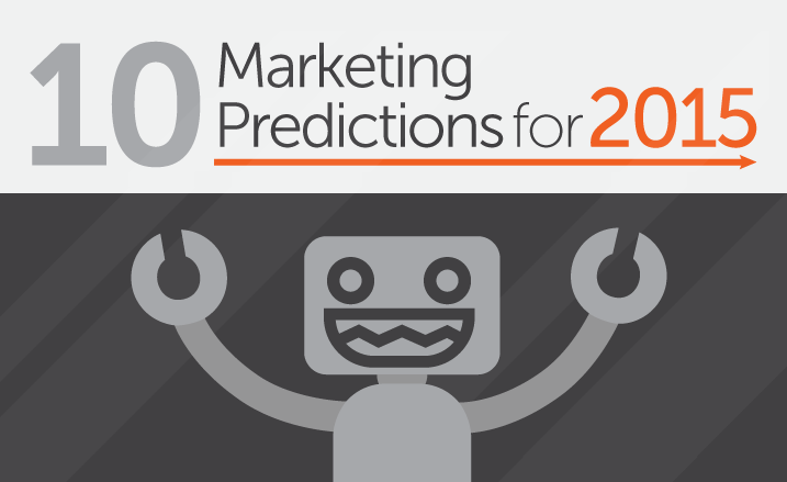 Content, Mobile, Personalization - Digital Marketing Trends for 2015 - #infographic