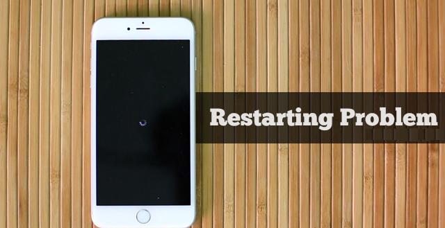 iPhone restarting Fix