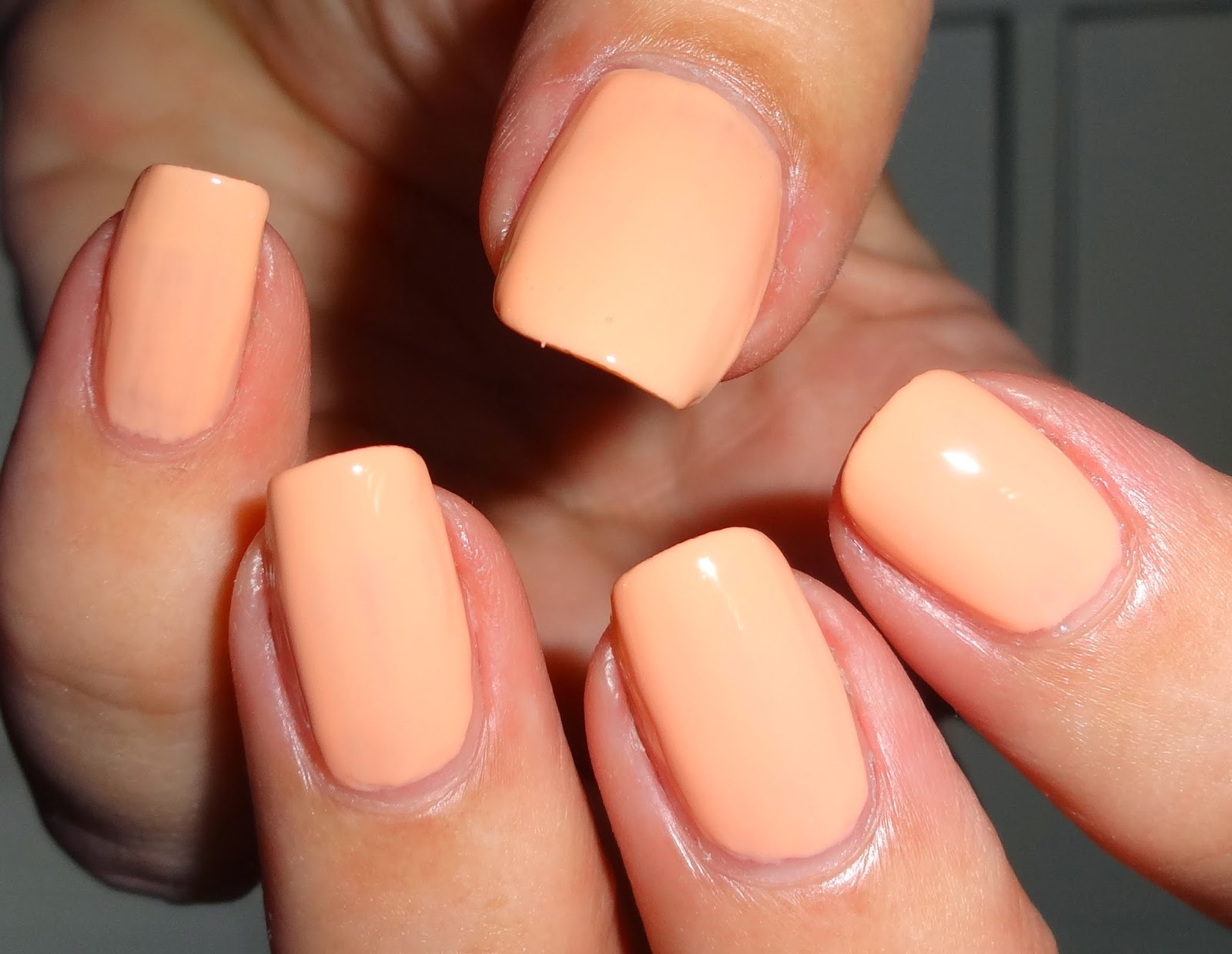 Wendy\'s Delights: Beauty UK Nail Polish - Let\'s hit the Peach ...