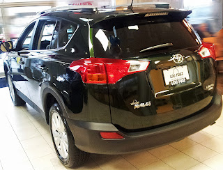 Dark green 2013 RAV4