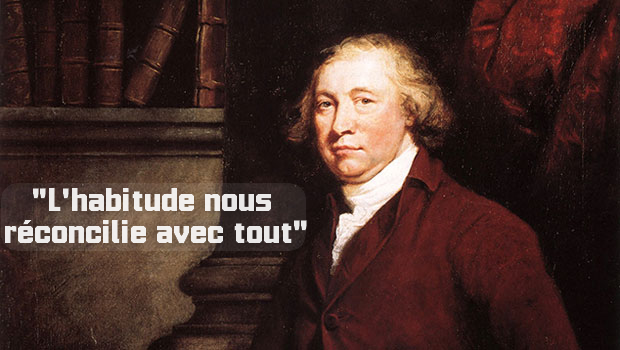 citation d'habitude Edmund Burke