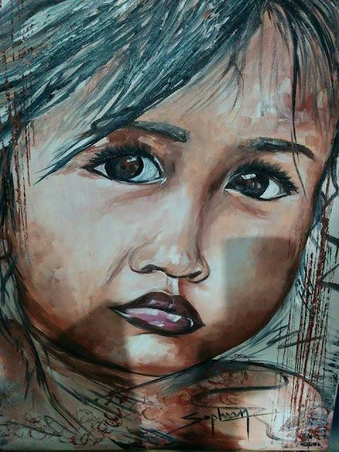 Enfant d'Asie par Sophoan Cao