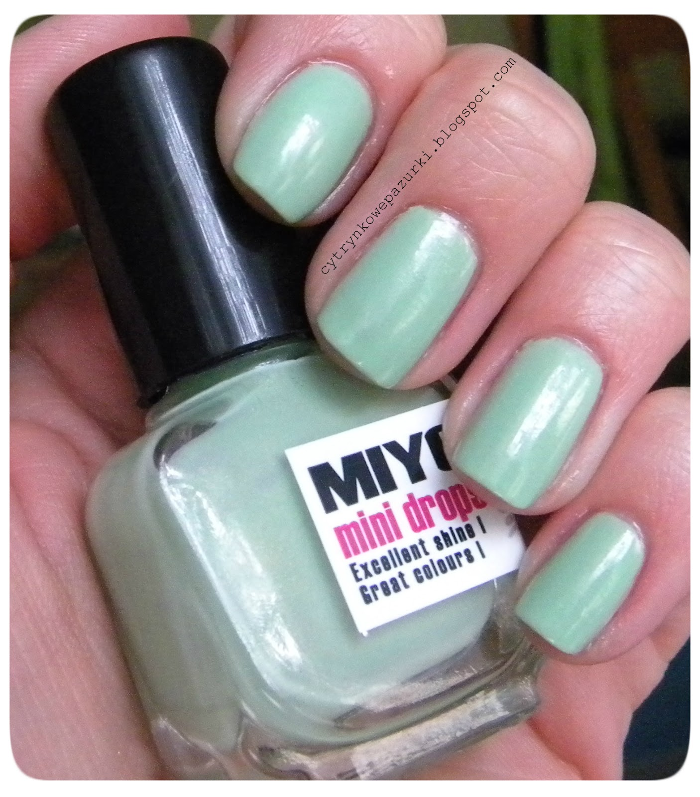 Miyo Mini Drops 43 Mint lakier zapachowy