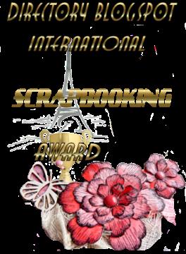 Scrapbooking award