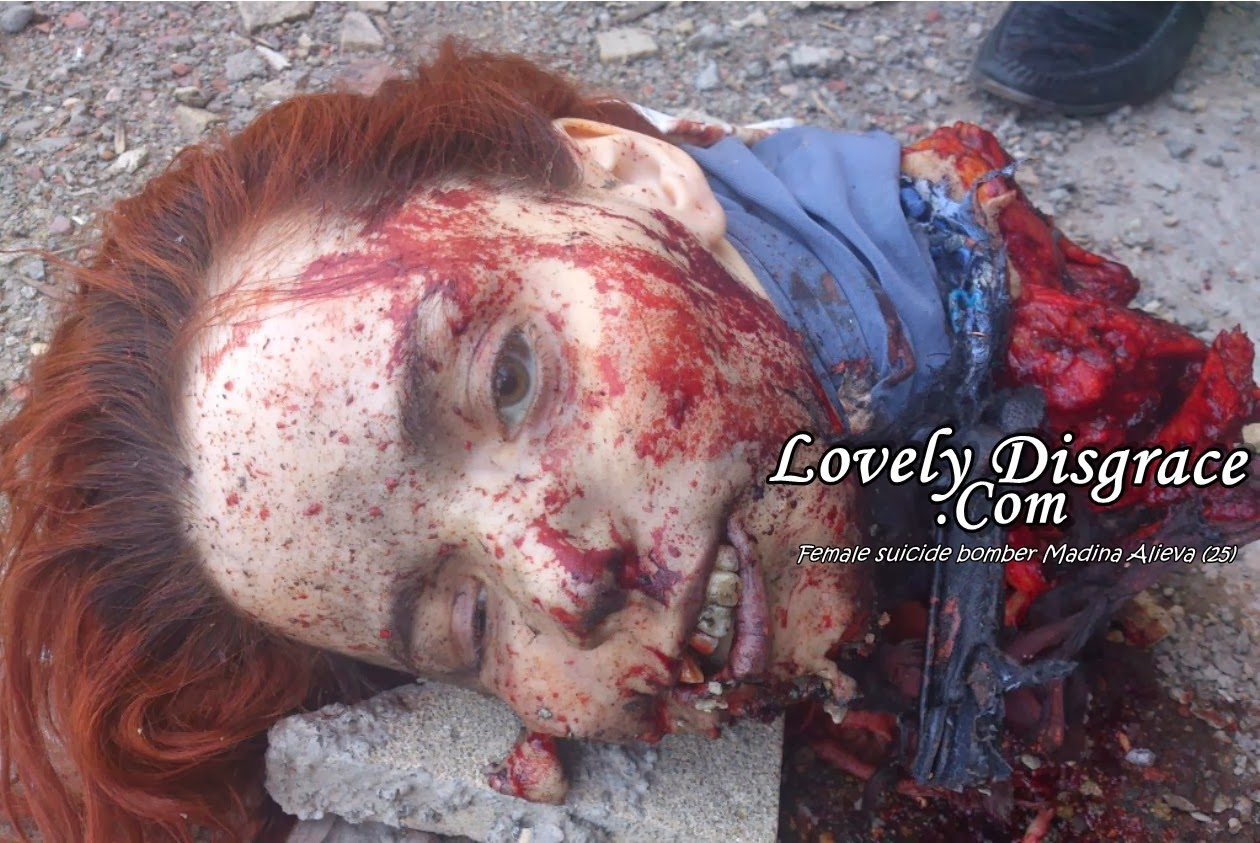 lovelydisgrace.com naked dead girls Female suicide bomber injures 18 in Russian region of Dagestan