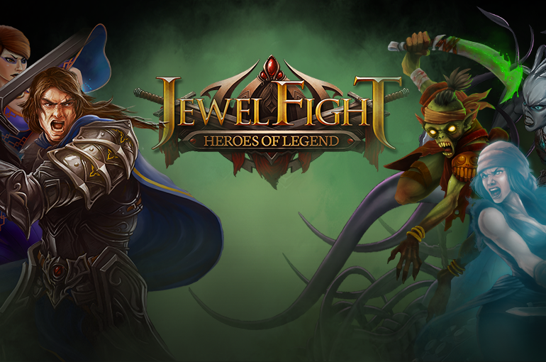 Jewel Fight Heroes of Legend Mod Unlimited Gems dan Coins