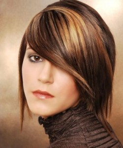Hair Style Trend Model Girl Office 2013