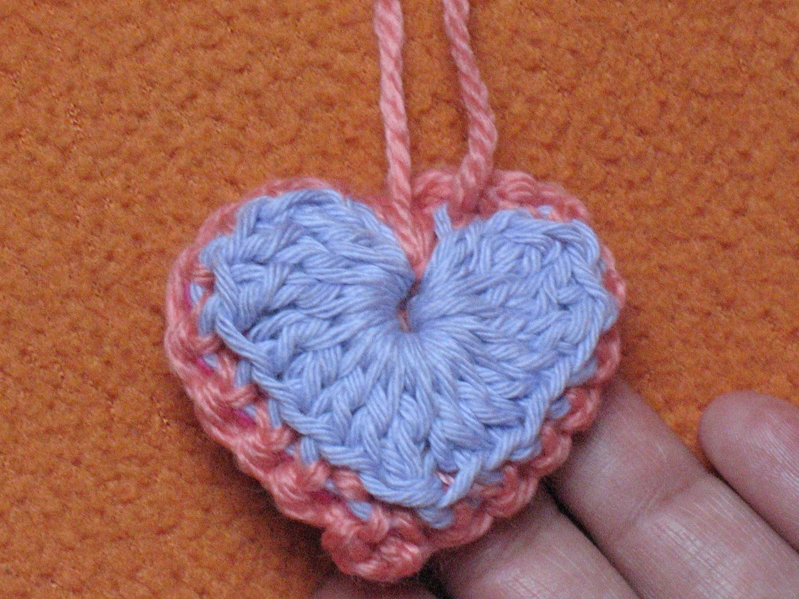 3D Herzen häkeln mit Anleitung | Bennelle