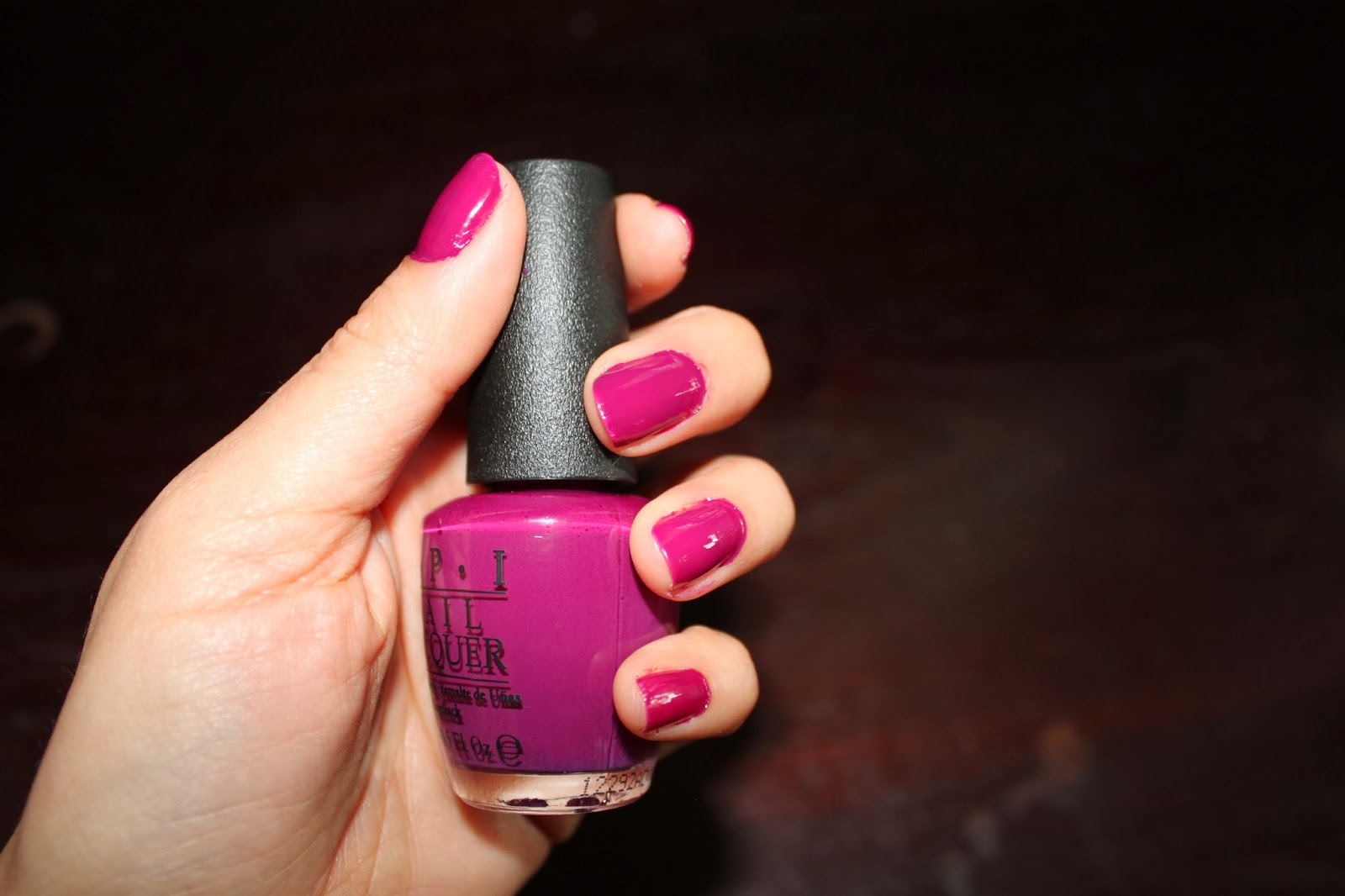 OPI's OPI Anti-Bleak Plum Purple Nail Polish