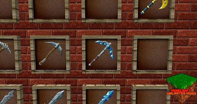Chroma Hills RPG Texture Pack herramientas y armas