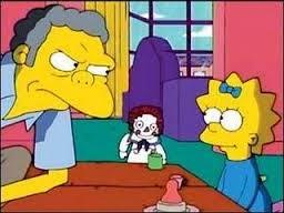 Moe Se Convierte En Niñera,Moe y el blues del beb