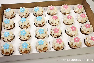 Simon Food Favourites Woolworths Town Hall Mini Iced Cup Cakes