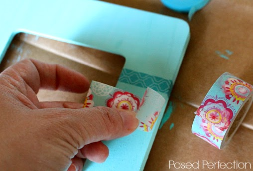 Washi Tape Picture Frame Project